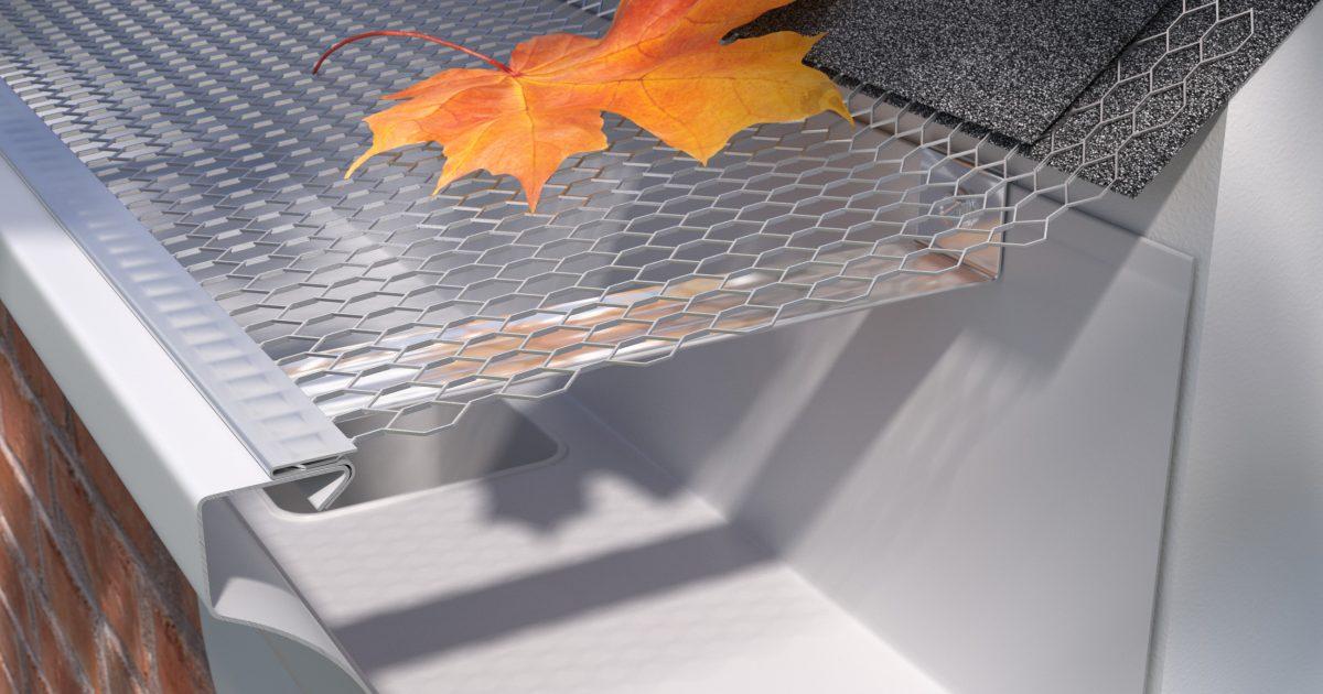 E Z Drop In Premium Aluminum Screens E Z Gutter Guards