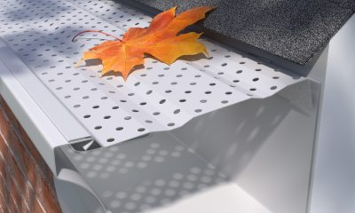 E Z H R Armor Painted Aluminum Covers E Z Gutter Guards