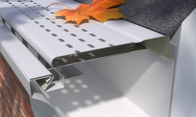 E Z Slide Painted Aluminum Covers E Z Gutter Guards