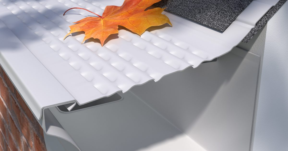 E Z Leaf Protection Painted Aluminum Covers E Z Gutter