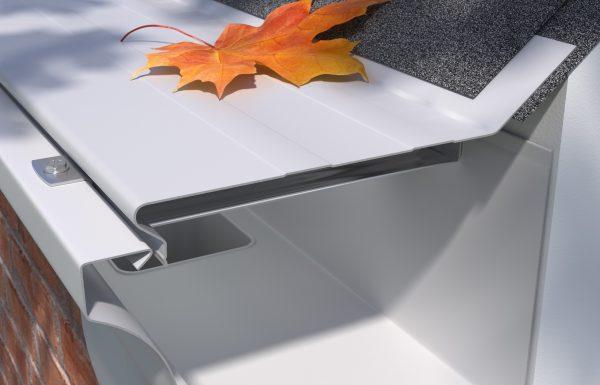 E-Z-Solid   Painted Aluminum Covers   E-Z Gutter Guards