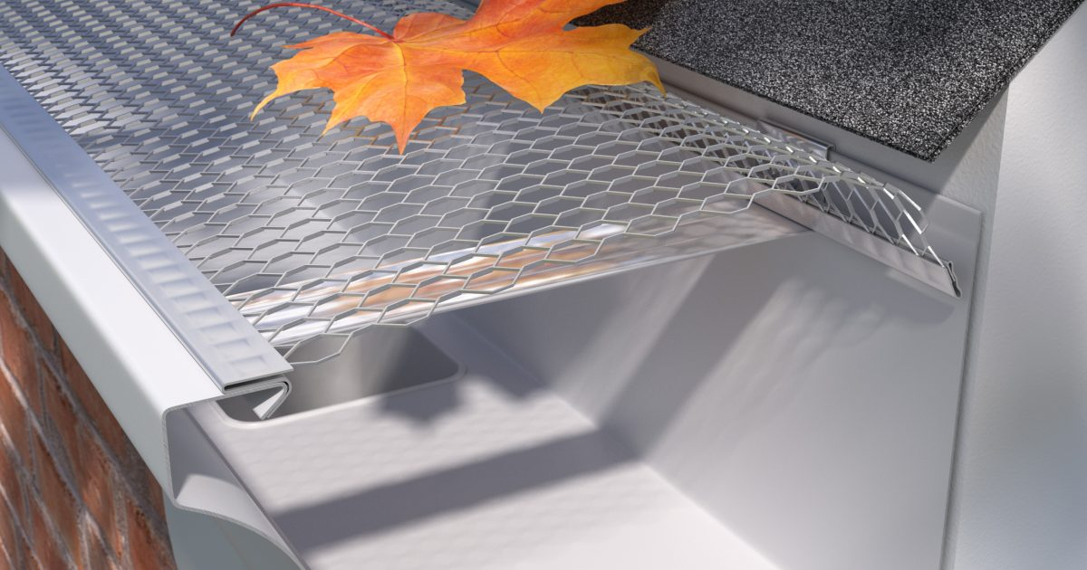 E Z Speed Screen Premium Aluminum Screens E Z Gutter
